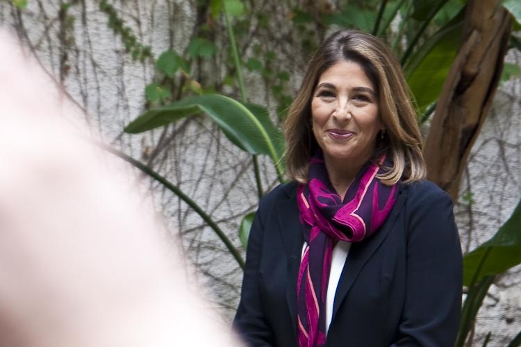 Naomi Klein presento su ultimo libro en Barcelona