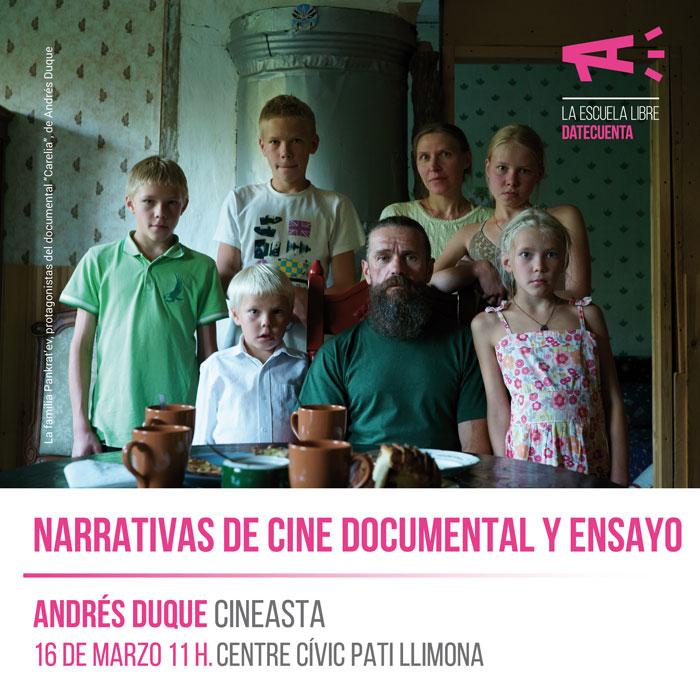 Clase gratuita de cine documental