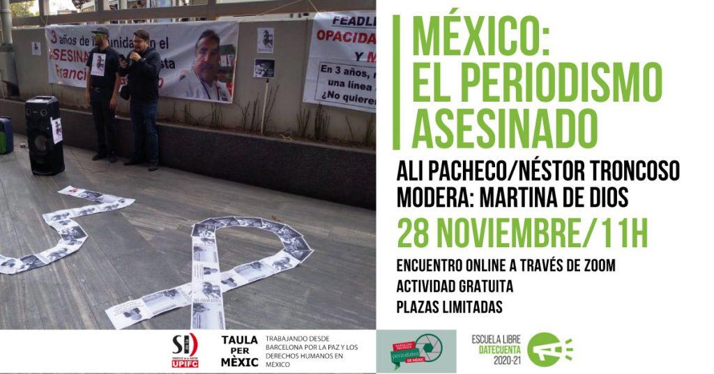 periodistas asesinados mexico