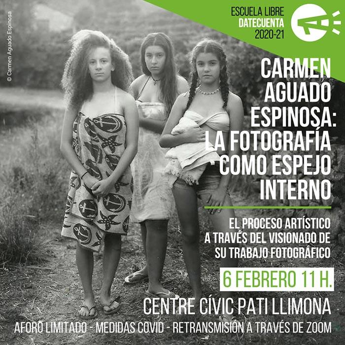 Carmen Aguado Espinosa conferencia en DateCuenta