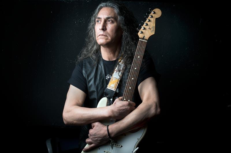 El músico Héctor Flores fotografiado por Sofía Moro durante la masterclass