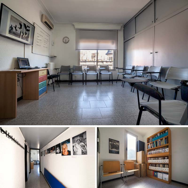 Instalaciones de la escuela DateCuenta