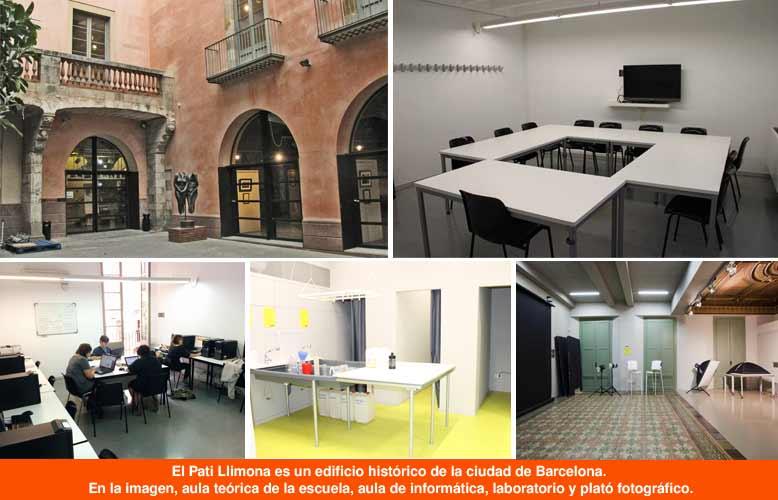 Instalaciones DateCuenta escuela de fotografía Barcelona