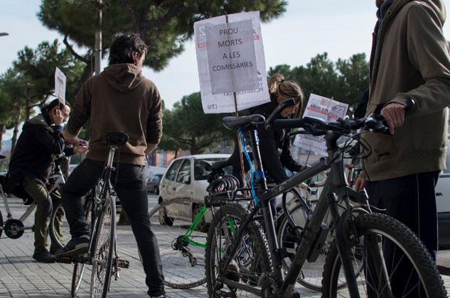 Bicicletada reivindicativa. | Foto: KAULDI IRIONDO