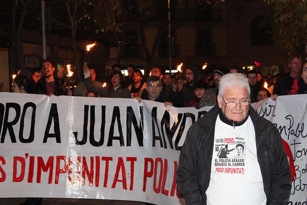 21 años después, Juanjo continúa la lucha por esclarecer el asesinato de su hijo. | Foto: SERGI RODERGAS