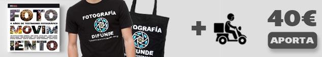 Agradecimiento + precompra del libro + Camiseta o bolsa + Envío peninsular (limitado a 50 recompensas)