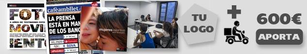 Agradecimiento + precompra del libro + libro 'Mujeres valientes' de DateCuenta + suscripción semestral a la revista 'Cafè amb Llet' + taller de fotografía o redes sociales de 6 horas en Barcelona (grupos de 8 personas) + Envíos peninsulares