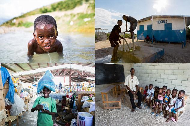 """Imágenes de """"El Corazón de Haití"""", de ALBERTO PLA"""