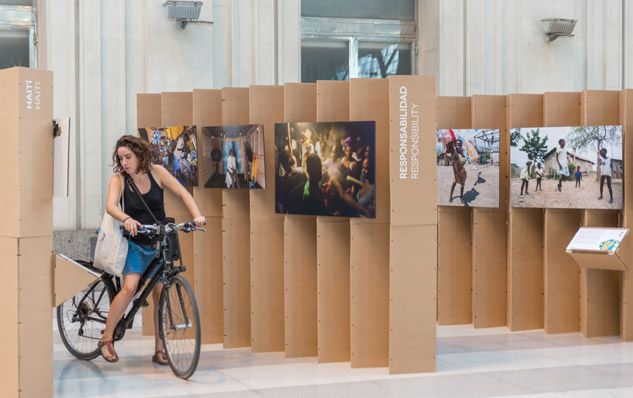 La propuesta expositiva de Alberto Pla a su paso por la estación de Francia. | Foto: ALBERTO PLA