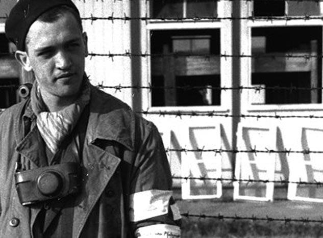 Un retrato de un jovencísimo Boix en el campo de Mauthausen.