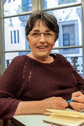 Edelvina, integrante de la Xarxa anti-repressió de familiars de detingudes