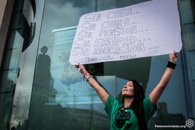 Segundo aniversario del 15M, manifestación del 12 de mayo de 2013   Foto: MÓNICA PARRA (Fotomovimiento)