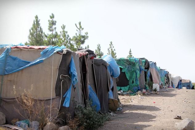 El campamento en Oujda | Foto: DANIELA FRECHERO