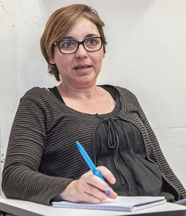 Marta, integrande de la Xarxa anti-repressió de familiars de detingudes