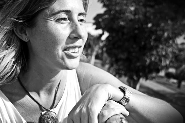 Cristina Robledo, viuda del fotoperiodista José Luis Cabezas |Foto: AITOR FERNÁNDEZ