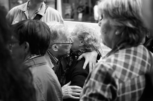 Esperanza y solidaridad en la lucha de los estafados por las 'preferentes' | Foto: CARLOS SUÁREZ