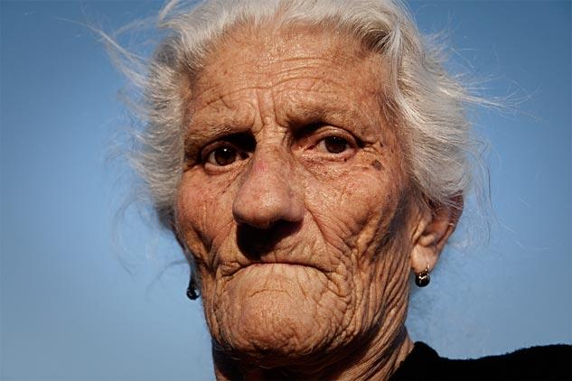 María Martín, paradigma de las víctimas del Franquismo, falleció esta madrugada. | Foto: AITOR FERNÁNDEZ (2011)