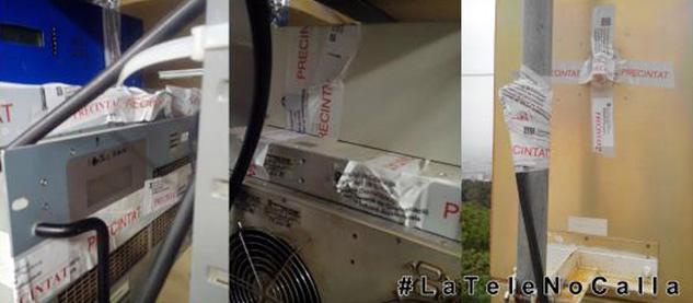LaTele fue precintada por una orden de la Generalitat el pasado mes de junio | Foto: LATELE