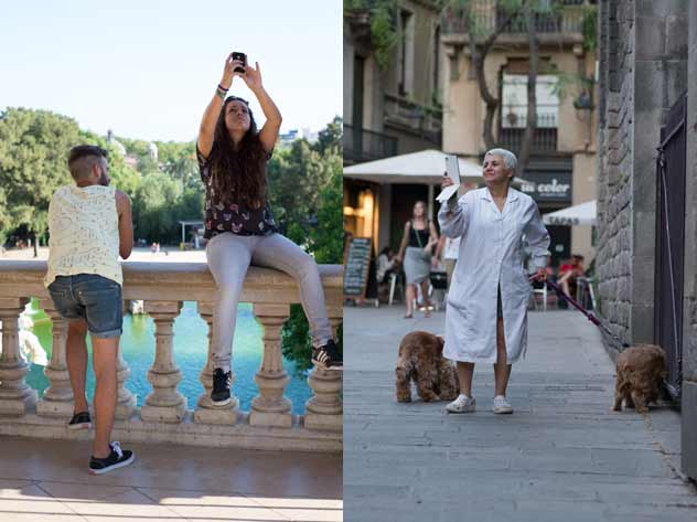Selfies | Fotos: AIDA POZA