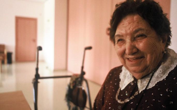 Teresa Álvarez, en un momento de la entrevista. | Foto: AITOR FERNÁNDEZ