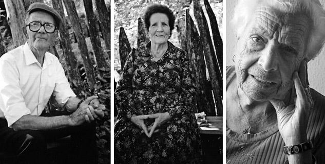 Antonio Olmo, Aurita Farelo y María Cañada. | Fotos: MANUEL OLMO (las dos primeras) y AITOR FERNÁNDEZ