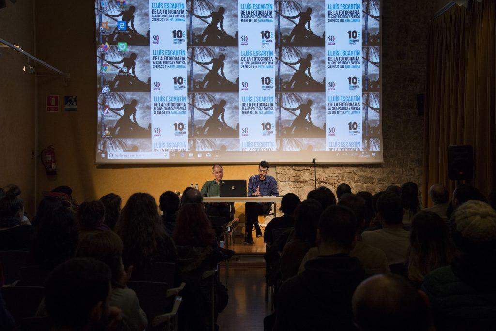 masterclase con el cineasta Lluís Escartín