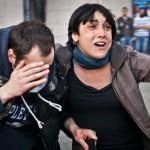 Jordi Borràs: «El escaparate roto de un banco lo provoca la propia administración del banco»
